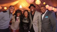 BMI and eOne Music hosted a fete to celebrate the release of the BMI Trailblazers of Gospel Music Live 2013 CD on October 22 at Park Tavern in Atlanta. Pictured at the event are recording artists Jonathan Nelson, Anaysha Figueroa, Lisa Knowles, Isaac Carree and Pastor Jason Nelson.