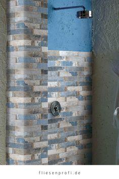 blaue Retro Fliesen im Vintagedesign jetzt günstig online kaufen ✔ kostenfreie Lieferung vieler Artikel ✔ viele Fliesen auf Lager ✔ große Auswahl an … Blaue Fliesen, Metro Fliesen, Bad Deko, Farben Mischen, Feinsteinzeug, Gäste Wc, Bäder Ideen, Kuba, Natursteine