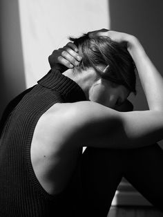 Vivien Solari in Philippa K Fall/Winter 2015 campaign (photography: Josh Olins, styling: Clare Richardson) / via fashioned by love british fashion blog