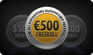 Register for poker freerolls and play online poker tournaments for FREE!