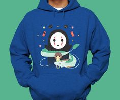 Spirited Away Hoodie by InksterInc on Etsy
