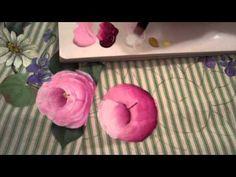 """Tagil roses. One stroke painting withTatyana Kudryavtseva. Brushes """"Т.Кудрявцева"""" - YouTube"""