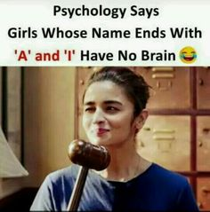 My friends not me but we are the one jo kisi ka bhi dimag kharab kar sakte h. Funny School Jokes, Some Funny Jokes, Crazy Funny Memes, Funny Facts, Besties Quotes, Best Friend Quotes, Bffs, Girly Attitude Quotes, Girly Quotes