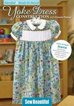 Ready to Smock - Yoke Dress Construction - DVD | Martha Pullen