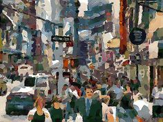 TIMES SQUARE BY ALAN CARPENTER.  Dynamic Auto Painter is a sophisticated set of digital brushes and controls allowing creation of paintings based on reference photos. With skill these digital paintings and those of traditional media are indistinguishable. Now scroll through Pinterest pins of high quality Dynamic Auto Painter artwork and see if you are not impressed with digital paintings. SEE MORE DIGITAL PAINTING AS ART NOW.... https://richard-neuman-artist.com/works