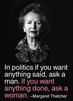 Margaret Thatcher quote