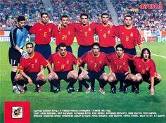 Spain team group at the 2002 World Cup Finals. 2002 World Cup, World Cup Final, Finals, Spain, Football, Group, Soccer, Futbol, Sevilla Spain