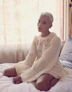 Zoe Kravitz Wears Ethereal Fashions in The Edit