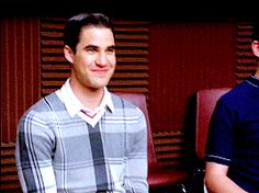 I love Kurt reeling in Blaine here.  Like he's ever had to try to get Blaine to follow him.