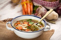 Grab your friends to enjoy this vegetable soup recipe! Seventh-Day Adventists often share meals together, supporting healthy behaviors and common values.