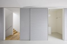 Skim Milk: V23K16 by Pasel Künzel Architects - expanded perforated sheets used internally for sliding partitions. Brilliant.