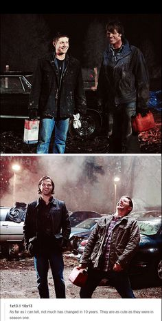 J2 - 1/13 and 10/13 - still cute as they were in season one!