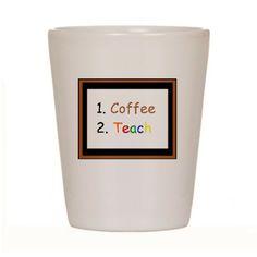 Coffee Then Teach Mug  Gift for Teacher Teacher Gift Gag Gift