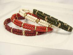 Choix mémoire fil bangle bracelet 15 couleurs par JewelryByLyndsey