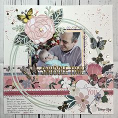 05f8167a414e 613 Best Baby Scrapbooking Layouts images in 2019 | Baby scrapbook ...