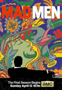 Mad Men affiche saison 7 - season 7 poster