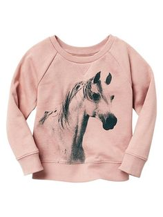 95fd8b31a94 Graphic sweatshirt Product Image Toddler Girl Outfits, Little Girl Outfits,  Kids Outfits, Toddler