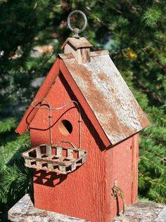 Soap Dish Perch Birdhouse