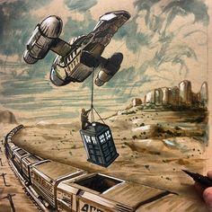 """""""The TARDIS job"""""""