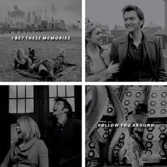 The Doctor + Rose Tyler: Someday when you leave me… #doctorwho