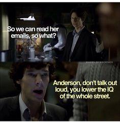Sherlock- funny