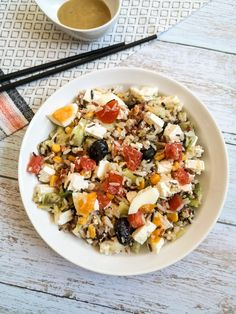 Salade de riz sauvage Recette Ma Healthy Tendency