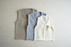 Linen Vest for Babies | The Purl Bee