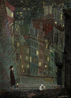 나의 어릴 적 꿈에서처럼  이 차가운 도시에 별들이 내려와 꽃을 피운다면 그대와 다시 사랑할 수 있을까