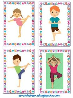 Gross Motor Activities, Gross Motor Skills, Activities For Kids, Yoga For Kids, Exercise For Kids, Occupational Therapy Activities, Brain Gym, Relaxing Yoga, Crafty Kids