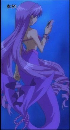 Princess Karen - Mermaid Melody Anime Mermaid, Mermaid Art, Mermaid Melody, Mermaid Images, Merfolk, Stop Motion, Fantasy Creatures, Aesthetic Anime, Pitch