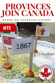 What Years The Provinces and Territories of Canada Joined Canada - an easy activity. The provinces and territories of Canada have changed since Here's a fun way to learn when each province or territory became part of this country. Social Studies Classroom, Social Studies Activities, History Activities, Teaching Social Studies, Teaching History, History Education, Learning Activities, Teaching Ideas, History For Kids