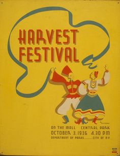 Harvest festival on the mall, Central Park / M. Weitzman. | Library of Congress