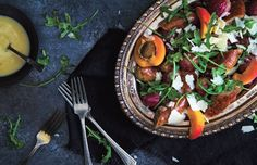 You'll find the roasted sausage with grapes recipe in our third magazine, page 49.
