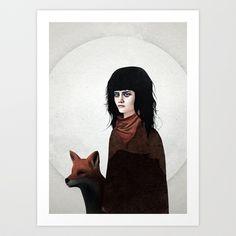 Us and Them Art Print by Ruben Ireland - $18.00