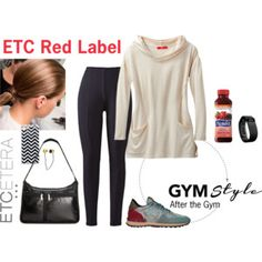 Etcetera: After gym style.