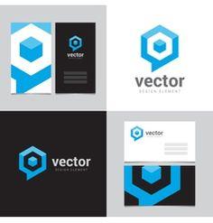 social media logo and business card template vector gfx design