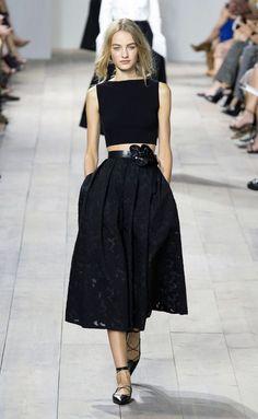 Michael Kors Spring Summer Ready-To-Wear 2015 Fashion Week Collection 54 Ny Fashion Week, Milan Fashion Weeks, New York Fashion, Fashion Show, Fashion Outfits, Dior Couture, Couture Fashion, Runway Fashion, Net Fashion
