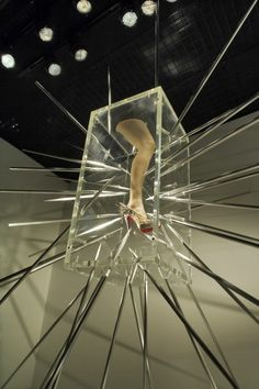 retail shoe display  | Creative Window Display of the Day – A Unique Way to Display Shoes