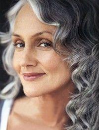 perfect gray hair
