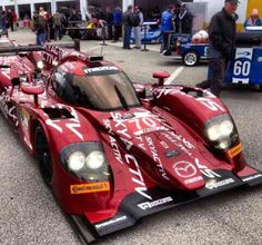 Mazda LMP Skyactiv Diesel Car at Daytona International Raceway