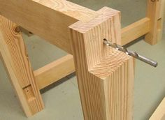 Shop Project: A good workbench is one of the most important tools in a workshop.