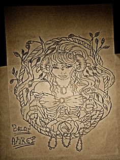 #Zombie Art girl !!