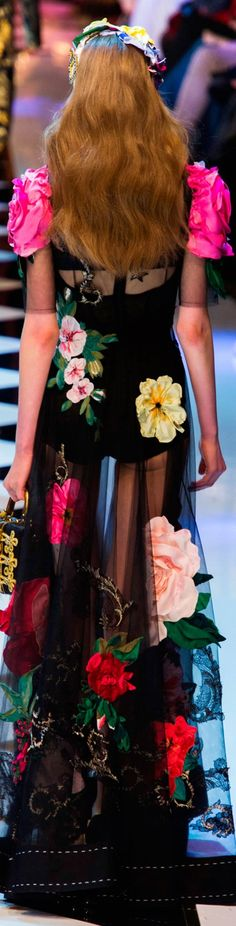 Rosamaria G Frangini | Color Fashion Glam | Dolce and Gabbana fall 2016 RTW