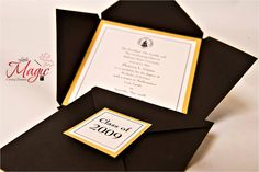 Graduation Announcements (Set of 25) - College, High School, Military. $87.50, via Etsy.