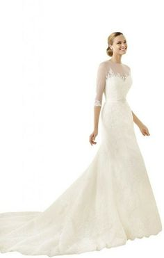 Lace Wedding Dresses Lace Wedding Dress with sleeves