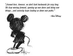 "Walt Disney — ""... keep moving forward..."" ||| Orlando Espinosa"