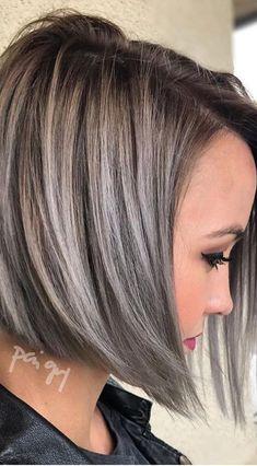 Best Layered Short Haircut - Women Short Hairstyle for Thick Hair Short Hairstyles For Thick Hair, Short Hair Cuts For Women, Trendy Hairstyles, Short Haircuts, Pixie Hairstyles, Grey Hair Styles For Women, Amazing Hairstyles, Blonde Hairstyles, Popular Hairstyles