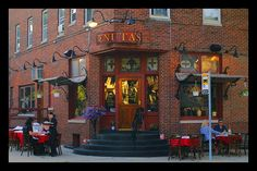 Tenuta's Italian Restaurant - Bay View, WI.  Great first date place!  The food is great and the atmosphere is cozy...
