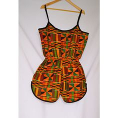 Items similar to OJuju Calabar Jumpsuit on Etsy African Dresses For Kids, African Fashion Ankara, Latest African Fashion Dresses, African Dresses For Women, African Print Fashion, Africa Fashion, African Attire, African Swimwear, African Print Jumpsuit