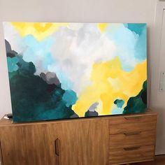 Finished commision / Encargo terminado about a month ago . . . . .  #abstractart  #arte #arteabstracto #abstracto #abstract #art #decoracion #decor #interiorismo #deco #interiordesign #interior  #painting #commision #colorfull #cuadrosporencargo  #artcollector #twitter